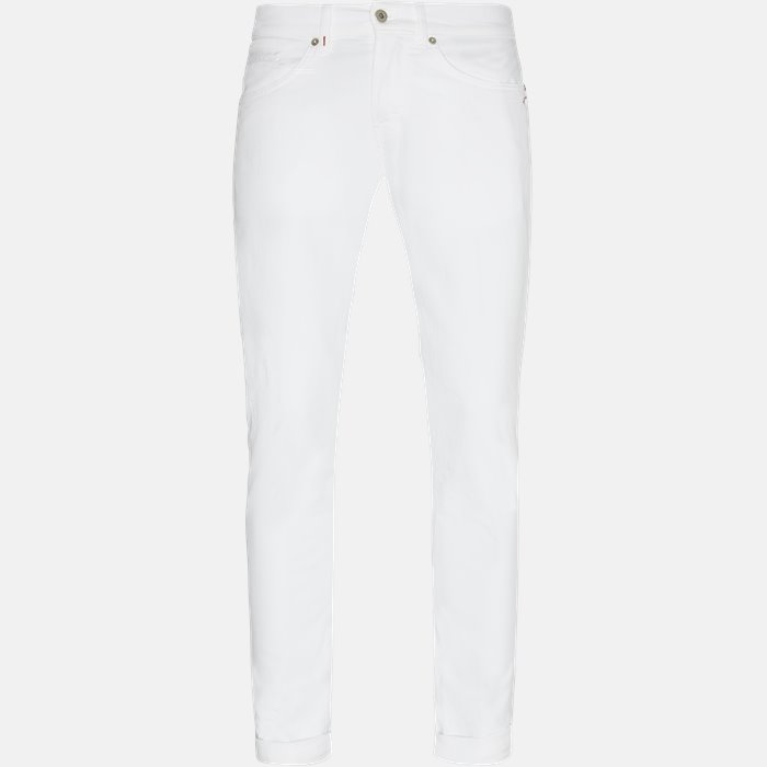 Jeans - Slim - White