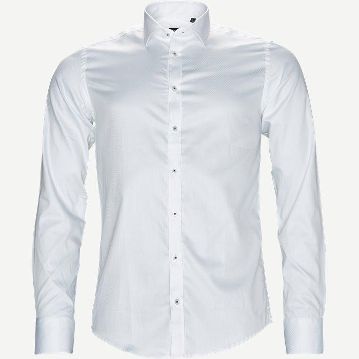 8589 Dot Iver/Dot State Skjorte - Skjorter - Hvid