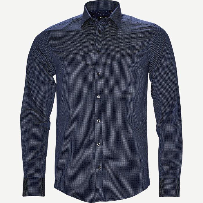 8601 Iver/State Skjorte - Skjorter - Blå