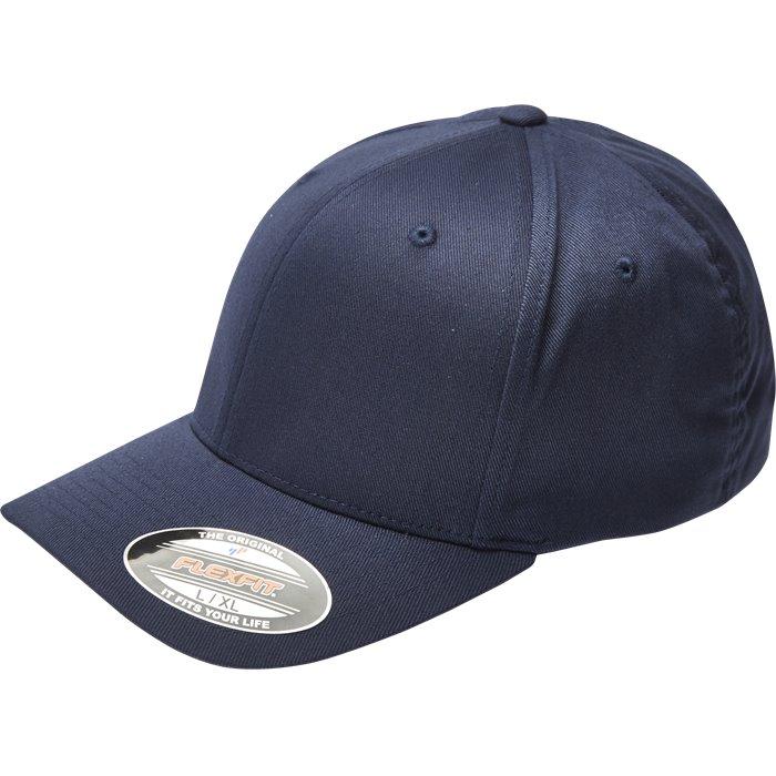 ALM BASIC 6277 - Caps - Blå