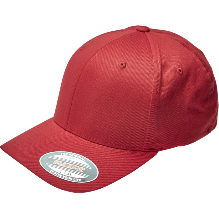 ALM BASIC 6277 - Caps - Rød