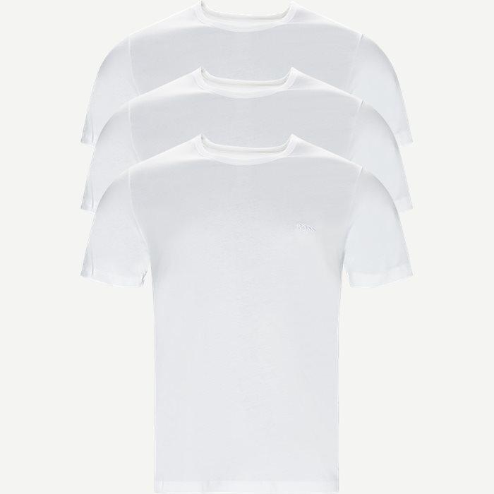 3-pak T-shirt - Undertøj - Regular - Hvid