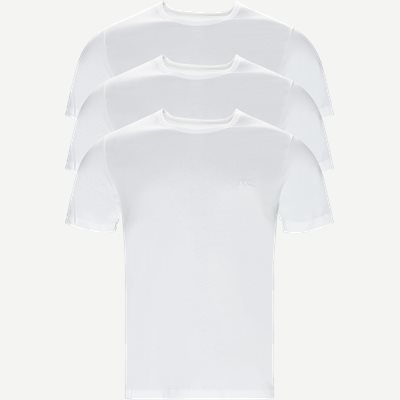 3-pak T-shirt Regular | 3-pak T-shirt | Hvid