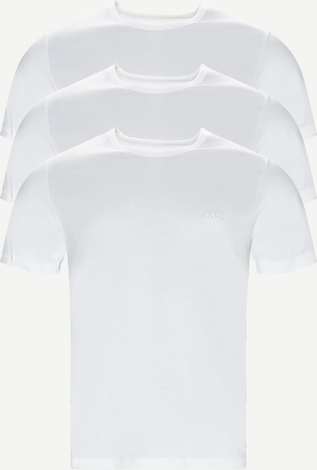 3-pack Crew Neck T-shirt - Undertøj - Regular - Hvid