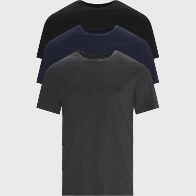 3-pack Crew Neck T-shirt Regular | 3-pack Crew Neck T-shirt | Blå