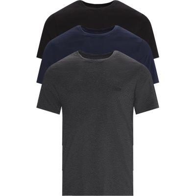 3-pack Crew Neck T-shirt Regular | 3-pack Crew Neck T-shirt | Blå