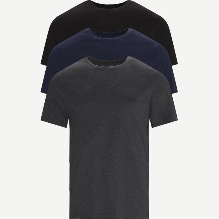 3-pack Crew Neck T-shirt - Undertøj - Regular - Blå