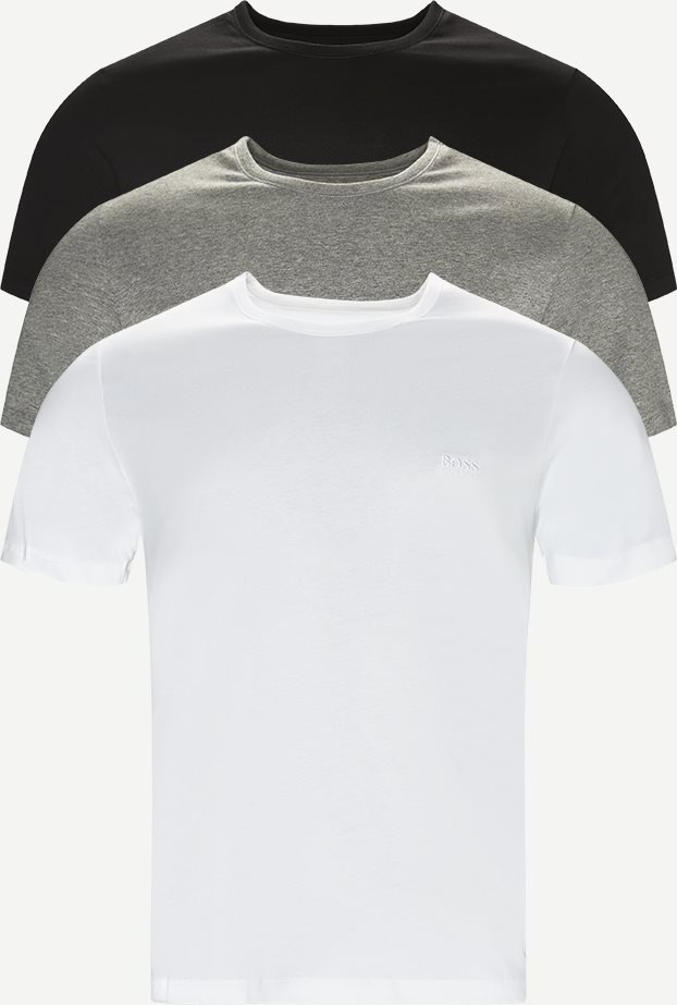 3-pack Crew Neck T-shirt - Undertøj - Regular - Multi