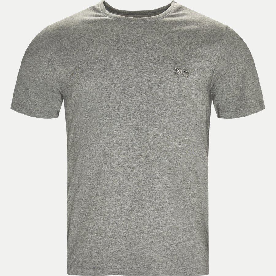 50325388 SHIRT SS RN 3P BM - 3-pak T-shirt - Undertøj - Regular - SORT/HVID/GRÅ - 4