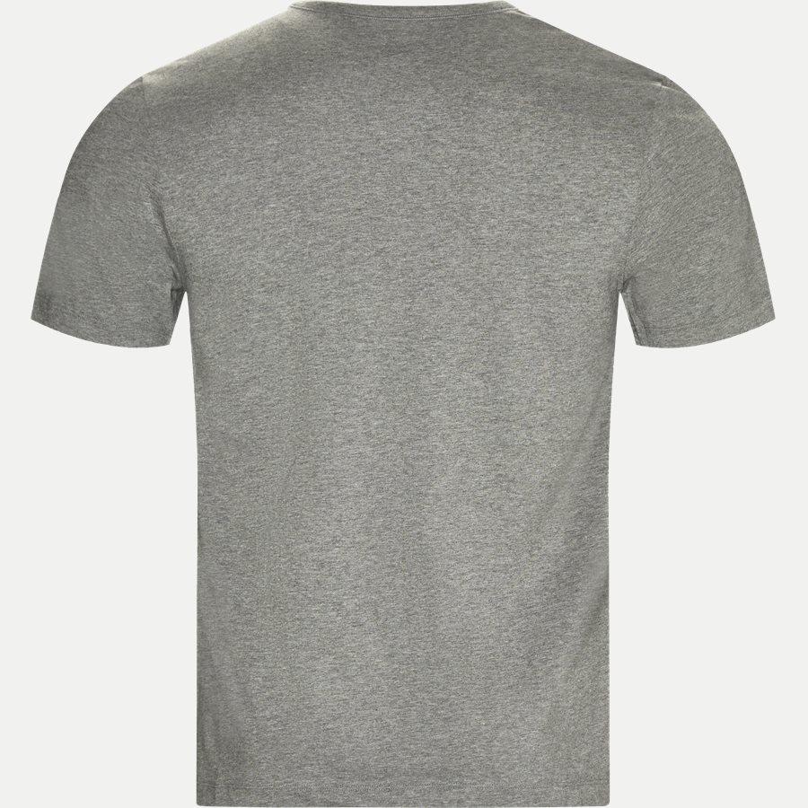 50325388 SHIRT SS RN 3P BM - 3-pak T-shirt - Undertøj - Regular - SORT/HVID/GRÅ - 3