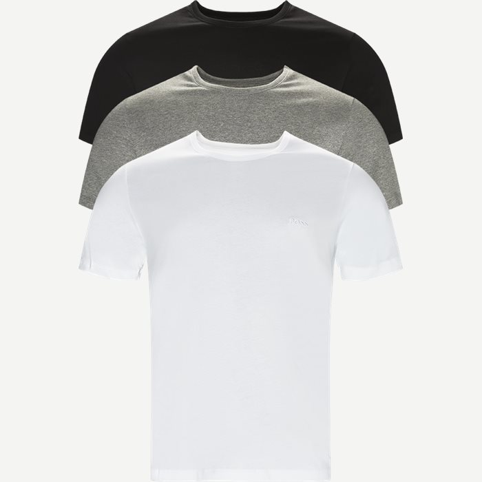 3-pak T-shirt - Undertøj - Regular - Multi