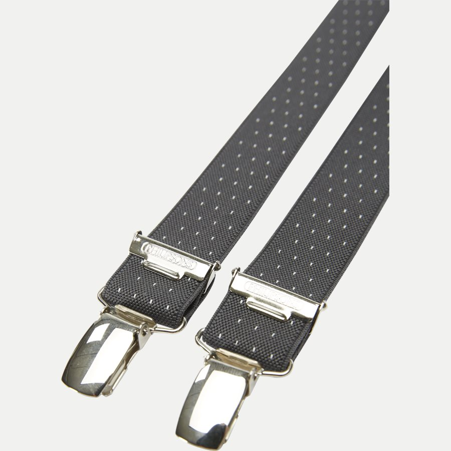 241 - Smalle Seler - Accessories - GRÅ/HVID - 2