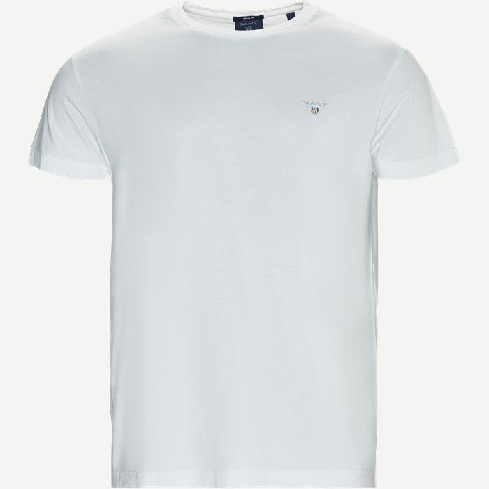Short-sleeved T-shirt - T-shirts - Regular - Hvid