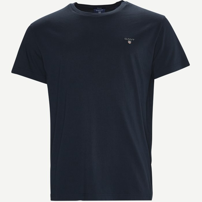 Short-sleeved T-shirt - T-shirts - Regular - Blå