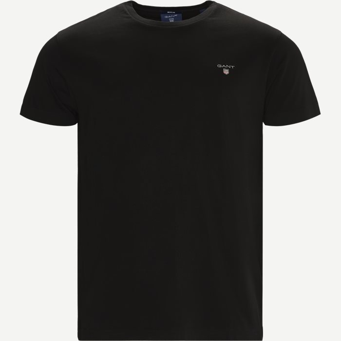 Short-sleeved T-shirt - T-shirts - Regular - Sort
