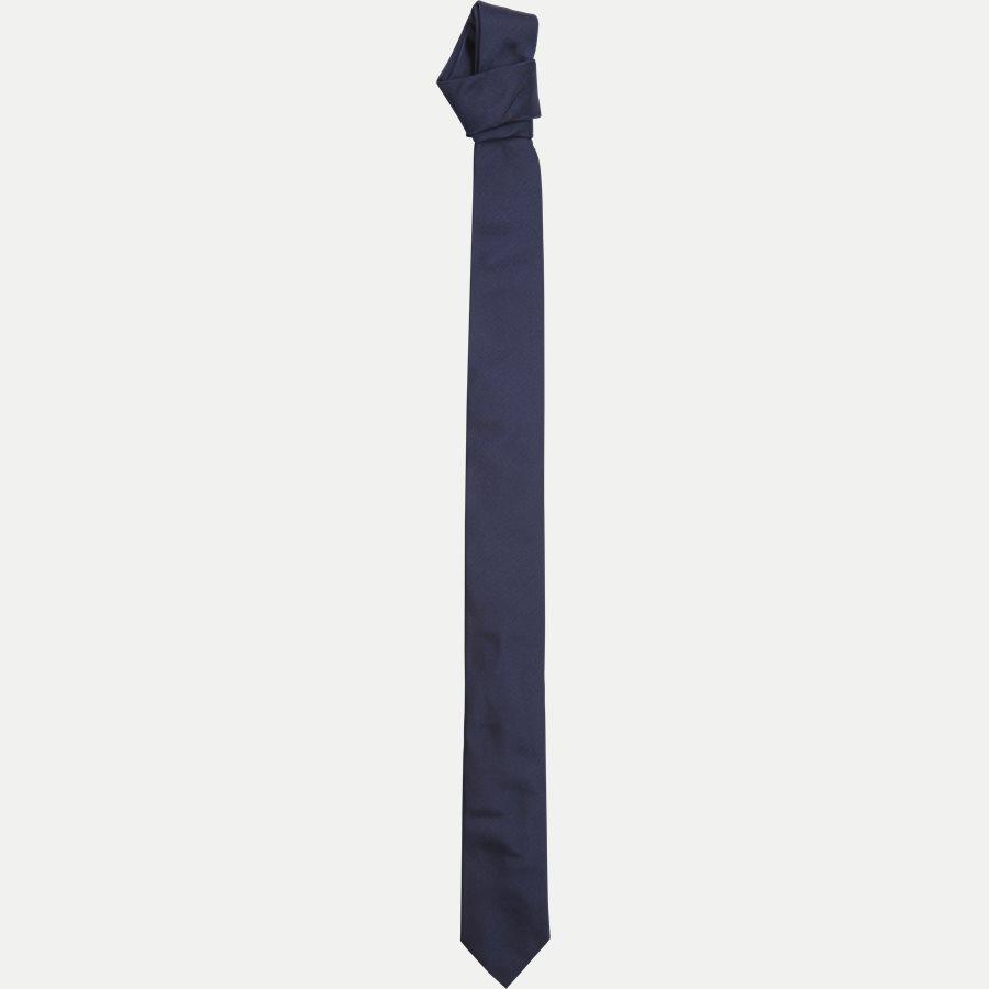 50307916 TIE 6 - Krawatten - NAVY - 1