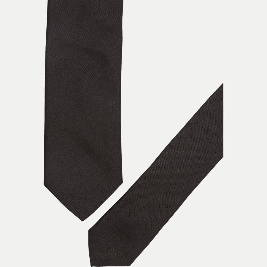 50307916 TIE 6 - Krawatten - SORT - 2