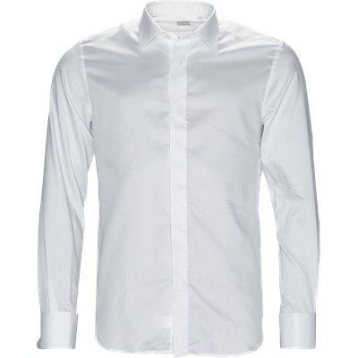 11277 644 skjorte Slim fit | 11277 644 skjorte | Hvid