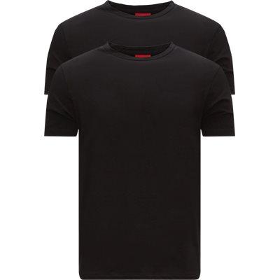 Slim fit | T-shirts | Svart