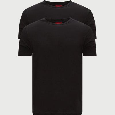 Slim fit | T-Shirts | Schwarz