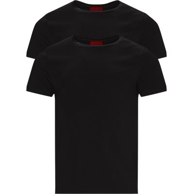 2-Pack Round T-shirt Slim | 2-Pack Round T-shirt | Sort