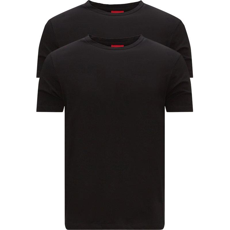 hugo – Hugo - 2-pack round t-shirt fra kaufmann.dk