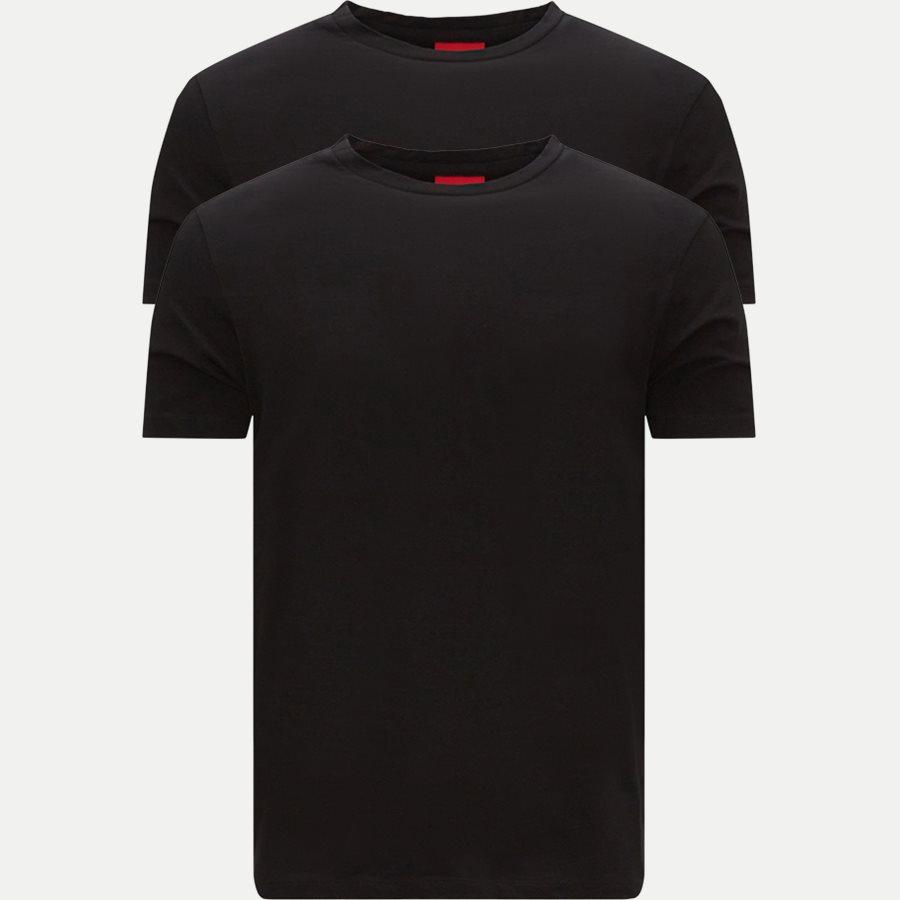 50325440 HUGO.ROUND - T-shirts - Regular - SORT - 1