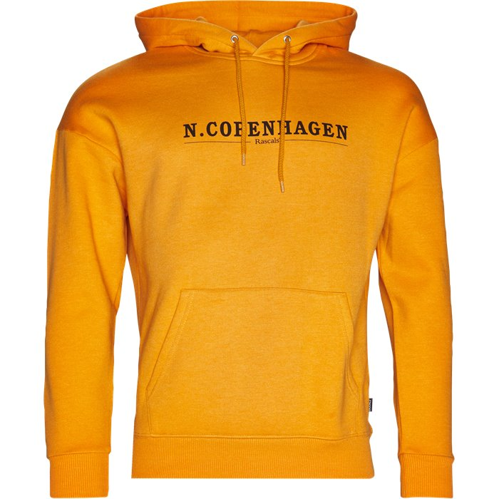 Copenhagen Hoody - Sweatshirts - Regular - Orange