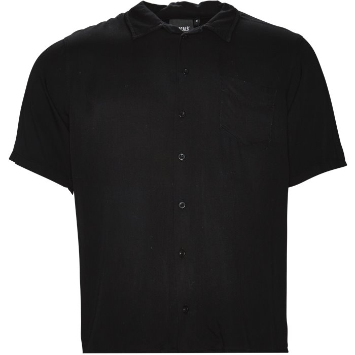 Dusty Night Shirt - Skjorter - Regular - Sort