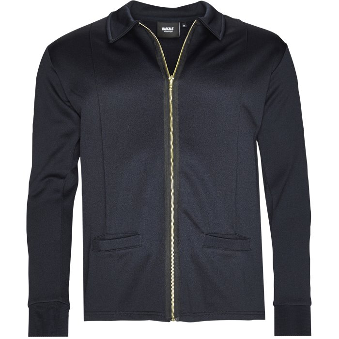Jimmy Track Top - Sweatshirts - Regular - Blå