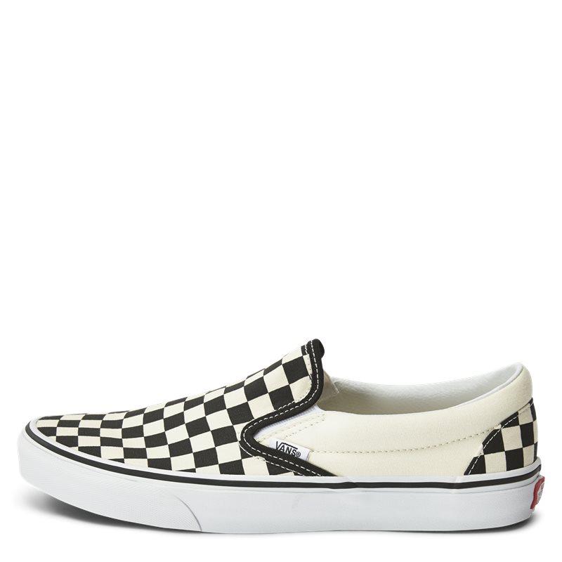 vans – Vans slip on check sko sort/hvid på quint.dk