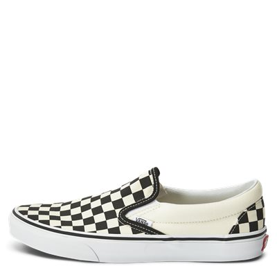Slip On Check Sko Slip On Check Sko | Sort