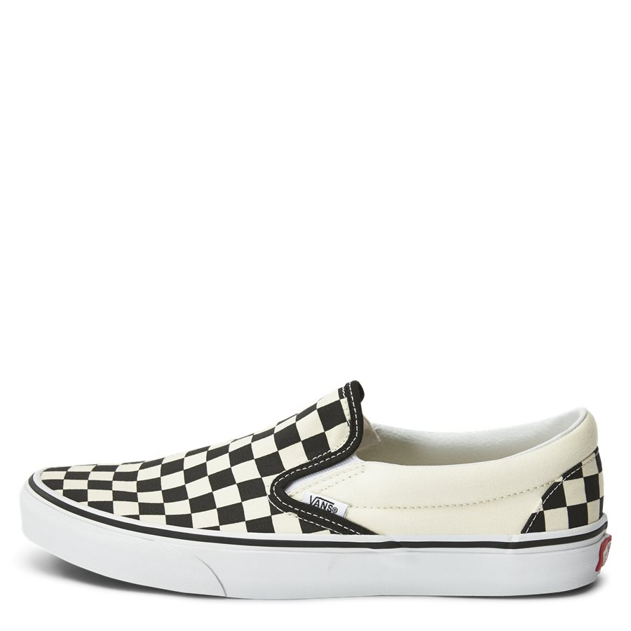 SLIP ON CHECK VEYEBWW - Shoes - SORT/HVID - 1