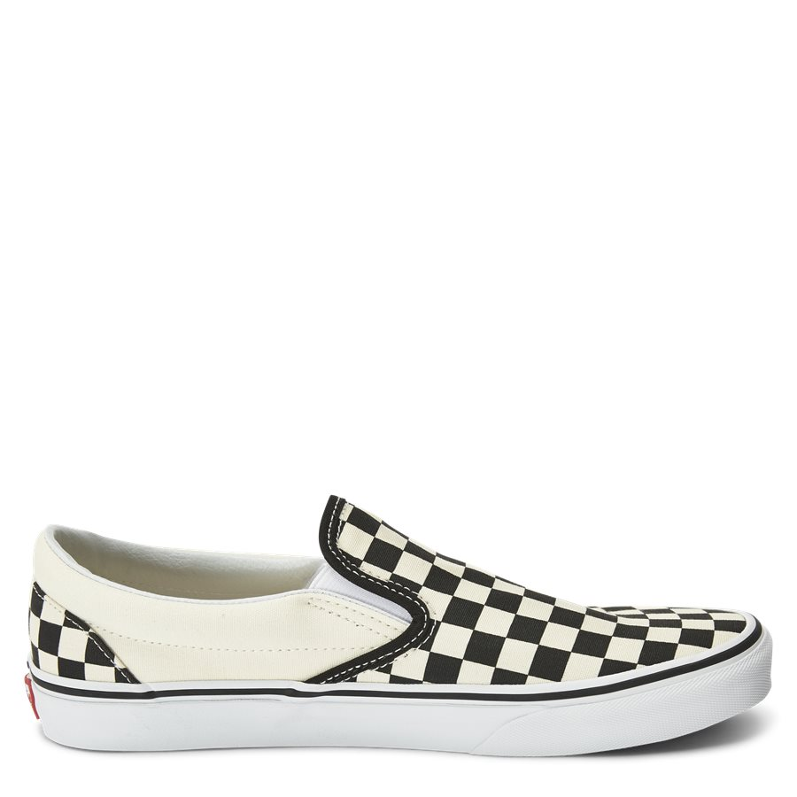 SLIP ON CHECK VEYEBWW - Shoes - SORT/HVID - 2