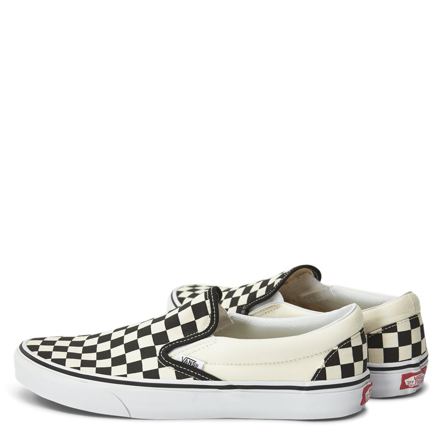 SLIP ON CHECK VEYEBWW - Shoes - SORT/HVID - 3