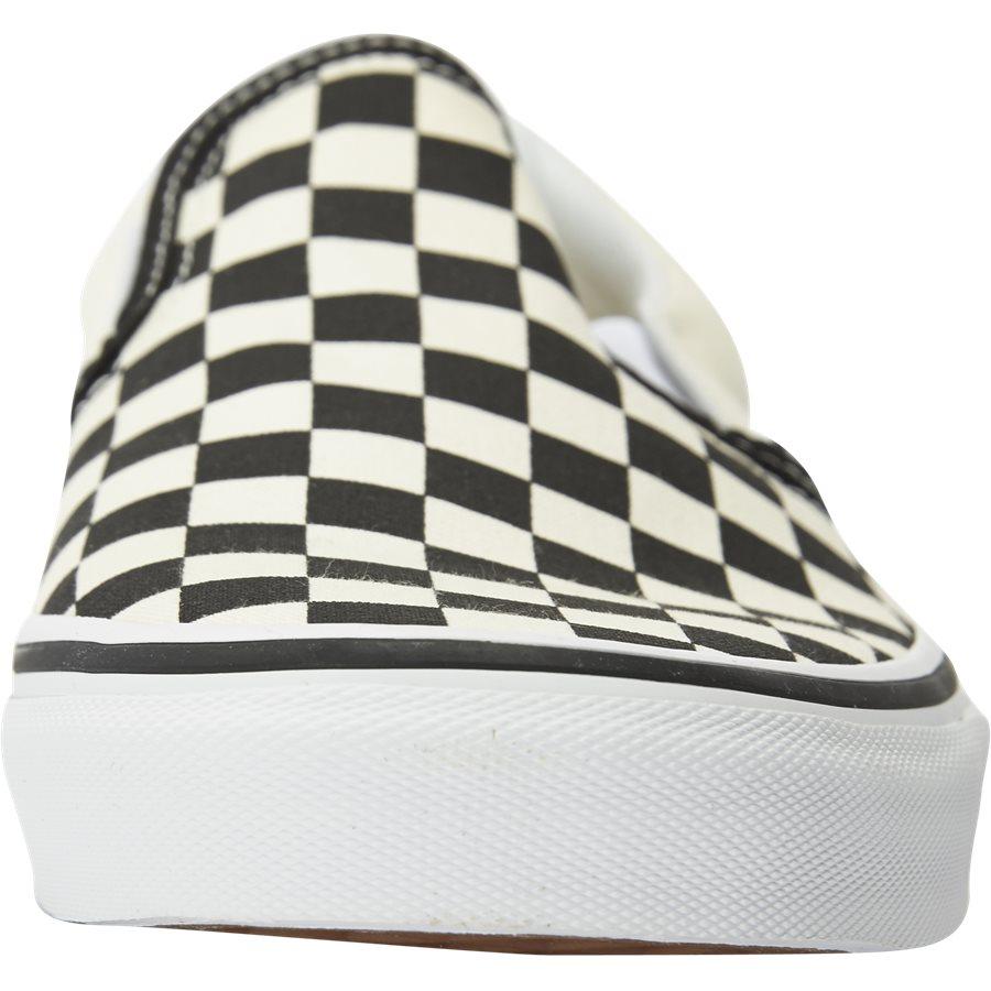 SLIP ON CHECK VEYEBWW - Slip On Check - Sko - SORT/HVID - 6