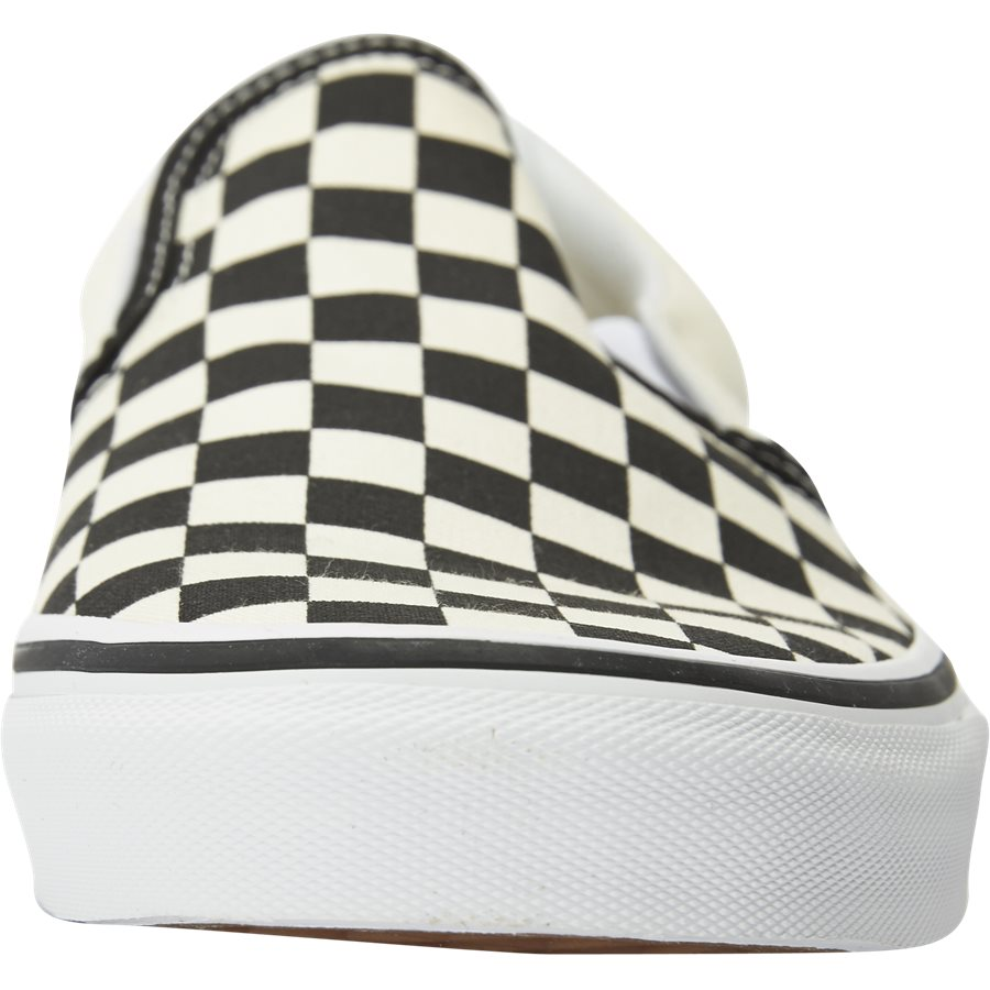 SLIP ON CHECK VEYEBWW - Shoes - SORT/HVID - 6