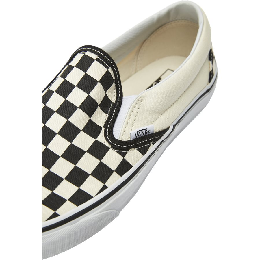 SLIP ON CHECK VEYEBWW - Shoes - SORT/HVID - 10