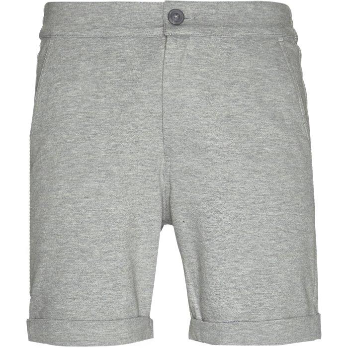 Press - Shorts - Regular - Grå