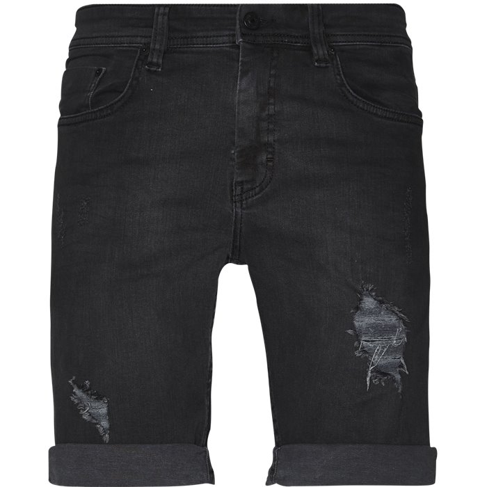 Dark Trash Mike Shorts - Shorts - Regular - Grå