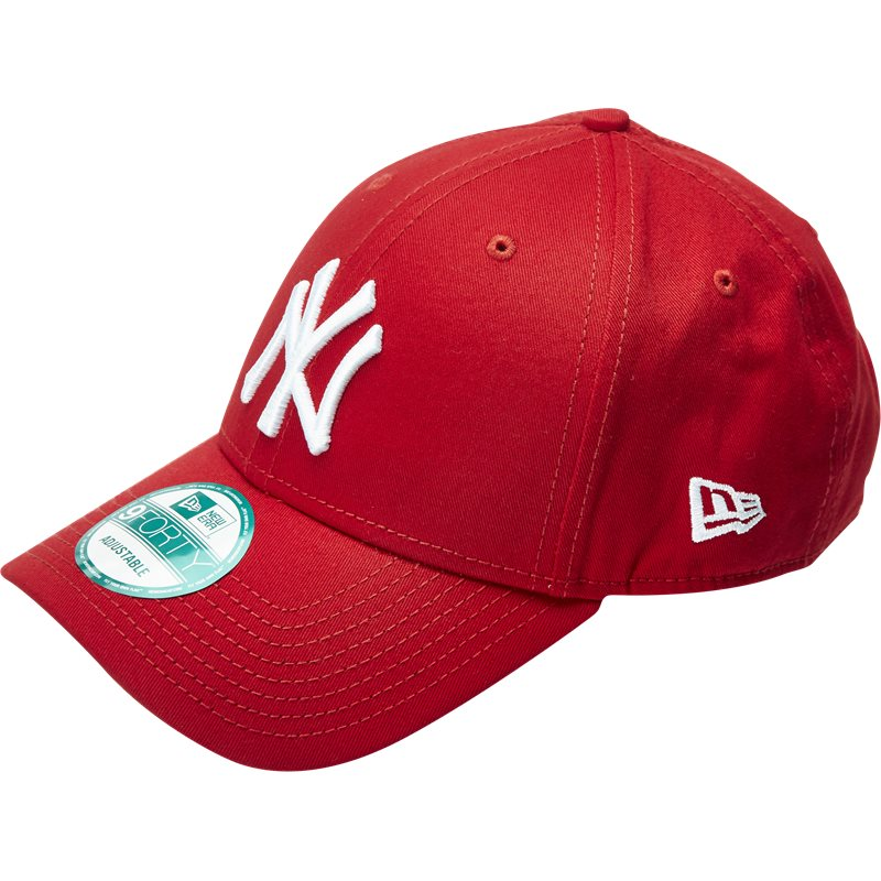 New Era 940 League Basic Rød