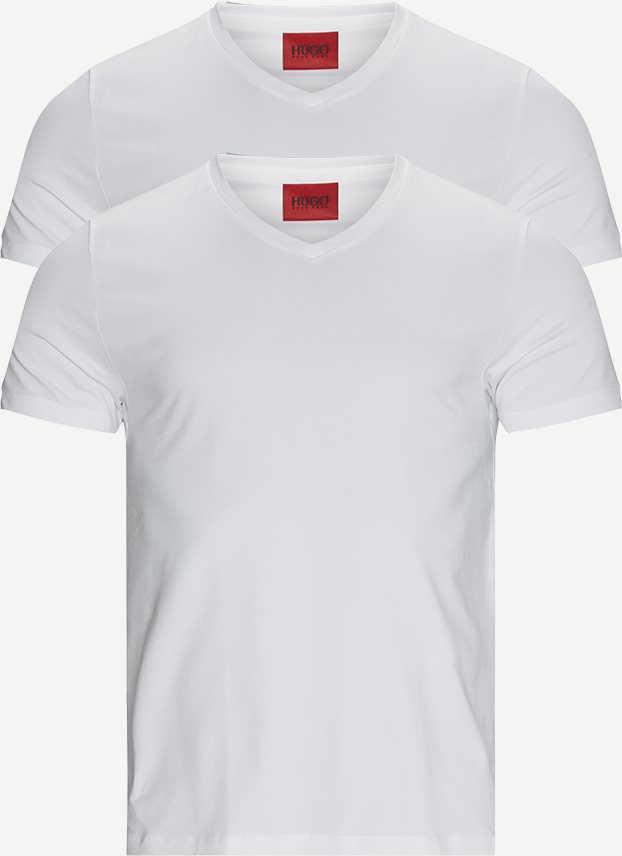 T-shirts - Slim - Vit