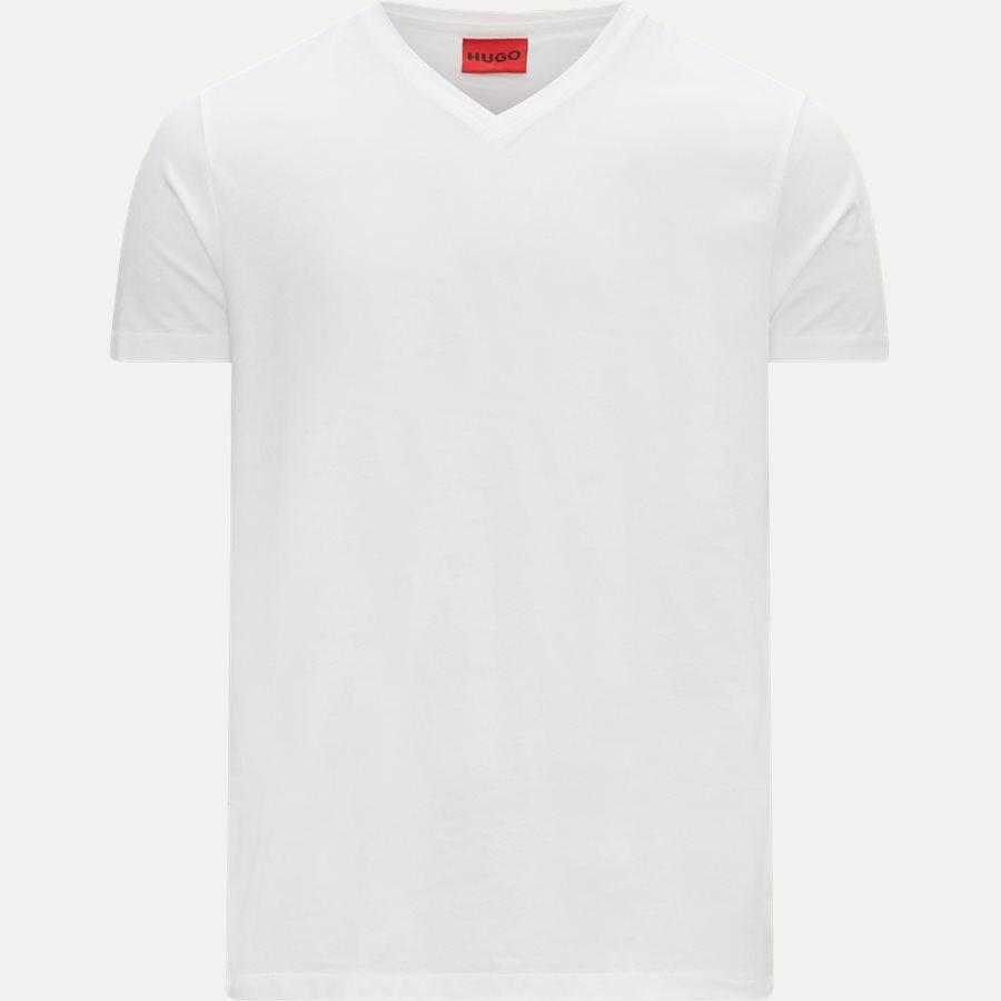 50325417 HUGO.V - 2-pak V-hals T-shirt - T-shirts - Regular - HVID - 2