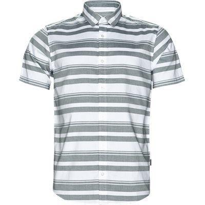S/S Orlando Skjorte Regular | S/S Orlando Skjorte | Grøn