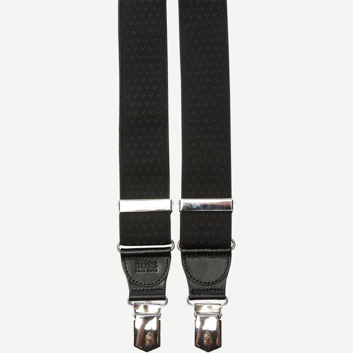 Bratt Seler - Accessories - Sort