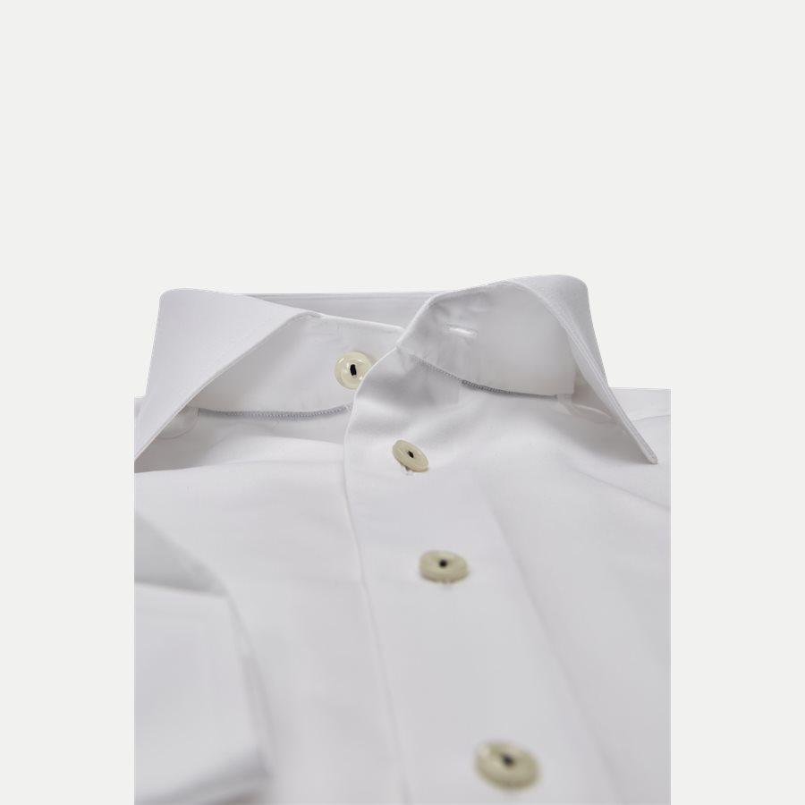 2567 - Poplin Skjorte - Skjorter - Slim - HVID - 2
