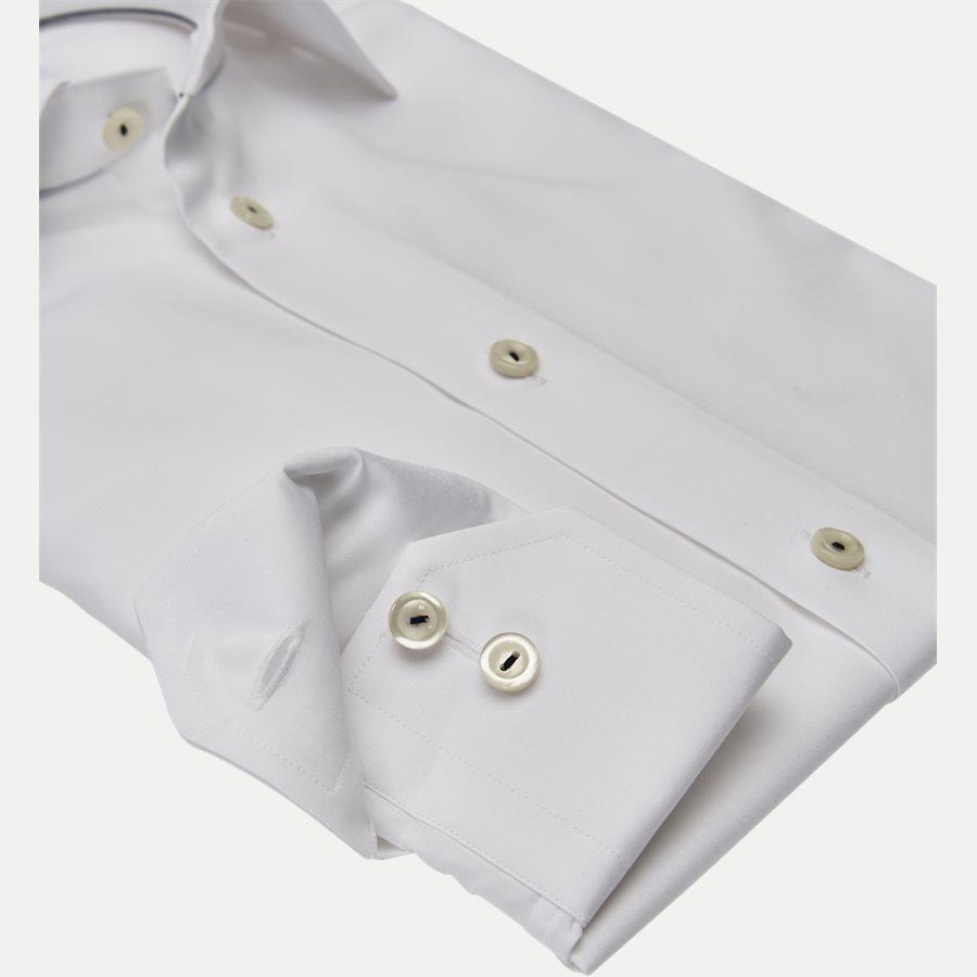 2567 - Poplin Skjorte - Skjorter - Slim - HVID - 3