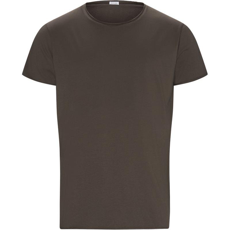 Billede af SON OF A TAILOR RAW EDGE t-shirt Brown
