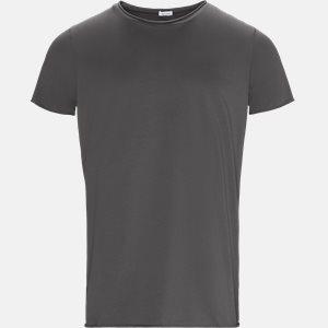 RAW EDGE t-shirt Regular slim fit | RAW EDGE t-shirt | Grå