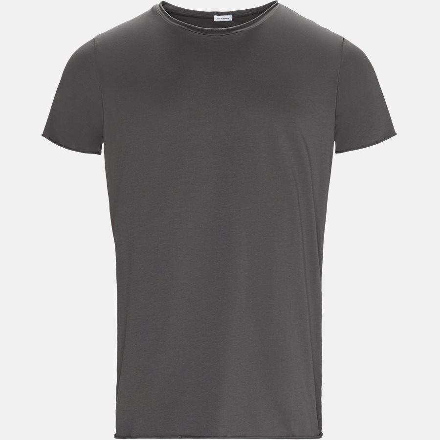 RAW EDGE - RAW EDGE t-shirt - T-shirts - Regular slim fit - GREY - 1